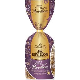 Révillon Chocolatier Les Papillotes Noël Merveilleux noir/blanc/lait