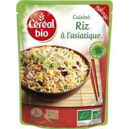 Cuisiné riz à l'asiatique BIO