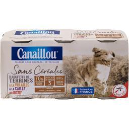Sans Céréales - Terrines volaille/caille/bœuf pour c...
