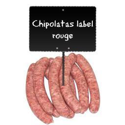 Chipolatas LABEL ROUGE
