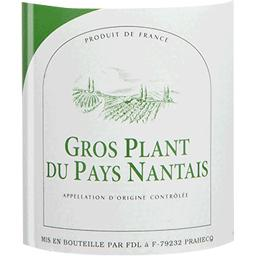 Gros plant du pays nantais, vin blanc