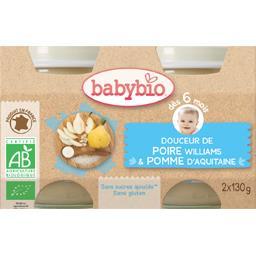Crème poire BIO, dès 6 mois