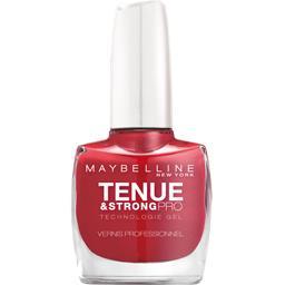 Tenue & strong pro, vernis à ongle 06 de couleur rou...