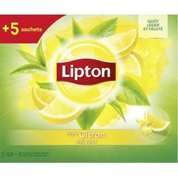 Lipton Thé vert aromatisé citron