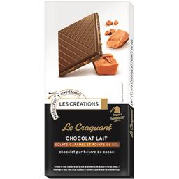 Chocolat Le Craquant lait éclats caramel