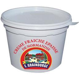 Crème fraîche épaisse de Normandie