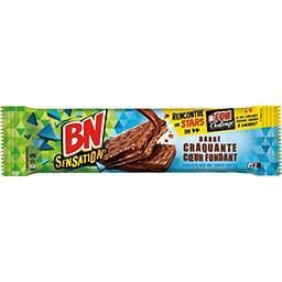 Barres biscuits Choco Crok' cœur fondant