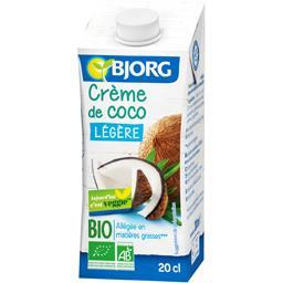 Crème de coco légère BIO