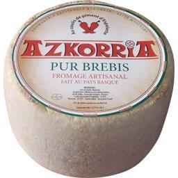 Fromage artisanal pur brebis coulis de piment d'Espelette
