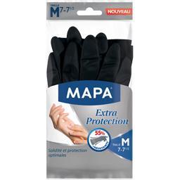 Mapa - 3 paires de Gants de Ménage Extra Protection - Taille 7/M
