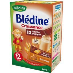 Blédine Croissance - Céréales choco biscuité & caram...