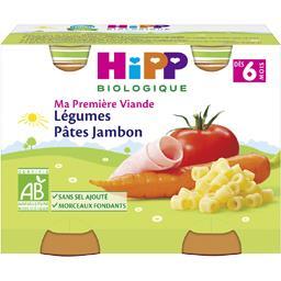 Ma Première Viande - Légumes pâtes jambon BIO, dès 6...