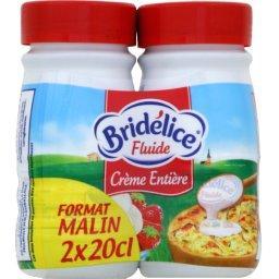Crème entière fluide 30% MG U.H.T