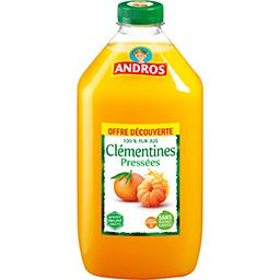 Andros Jus de clémentines 100% pur jus