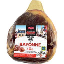 Jambon de Bayonne IGP 9 mois désossé