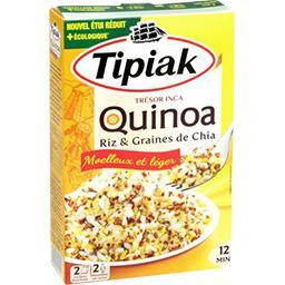 Quinoa riz maïs chia Trésor Inca
