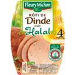 Rôti de dinde cuit halal