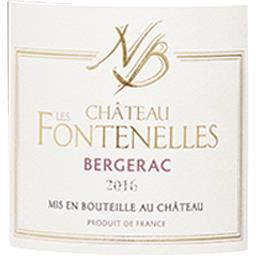 Bergerac Château Les Fontenelles vin Rouge 2016