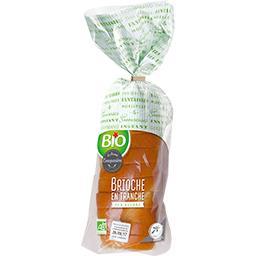 Bio La Fournée Campanière Brioche en tranche BIO le paquet de 350 g