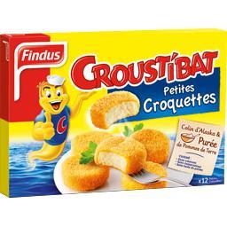 Croustibat - Petites galettes de poisson