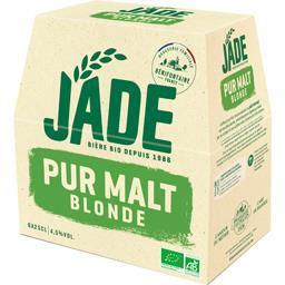 Jade Bière blonde BIO pur malt