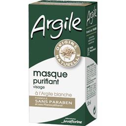 Argile - Masque purifiant visage à l'argile blanche