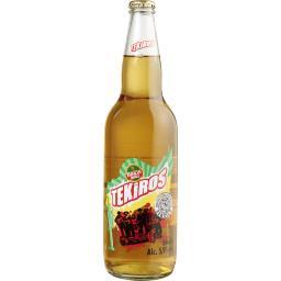 Bière Tekiros aromatisée tequila