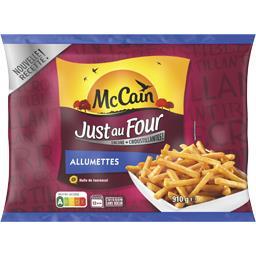 Mc Cain Just au Four - La frite allumette fine et croustilla...