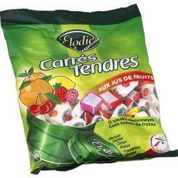 Bonbons Carrés Tendres aux jus de fruits