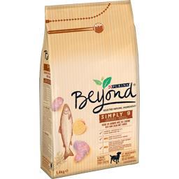 Purina Croquettes Simply 9 au saumon pour chien le sac de 1,4 kg