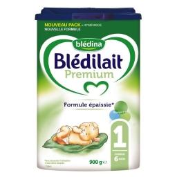 Blédilait - Lait en poudre Premium 1, jusqu'à 6 mois