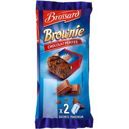 Brownie - Gâteaux chocolat pépites