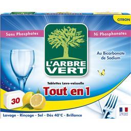 Tablettes lave-vaisselle tout en 1 citron