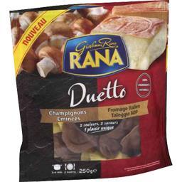 Pâtes fraîches Duetto champignons & fromage Taleggio AOP