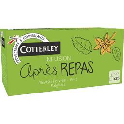 Cotterley Infusion après-repas la boite de 40 g
