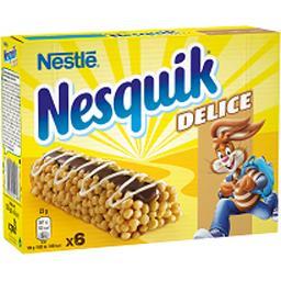 Nestlé Nestlé Nesquik - Barres de céréales Delice