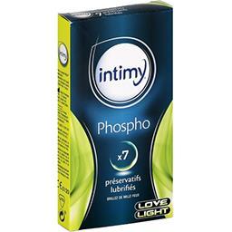 Préservatifs lubrifiés Phospho