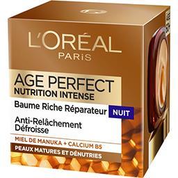 L'Oréal Age Perfect - Crème nutrition intense nuit
