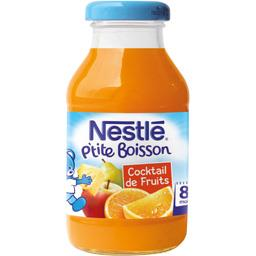P'tite Boisson - Boisson cocktail de fruits, 8+ mois