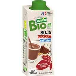 Bio Regain Boisson au soja au chocolat BIO la brique de 25 cl