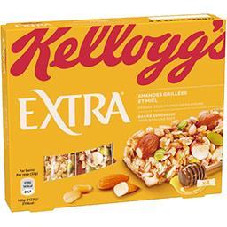 Kellogg's Extra - Barre généreuse amandes grillées et miel
