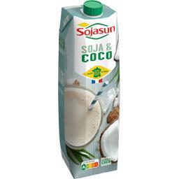 Boisson gourmande soja & coco