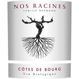 Côtes de Bourg BIO, vin rouge