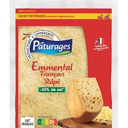 Emmental français râpé sel réduit