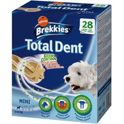 Brekkies Sticks Total Dent Germ Control pour chiens les 4 paquets de 7 sticks - 440 g