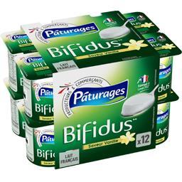 Lait fermenté Bifidus saveur vanille