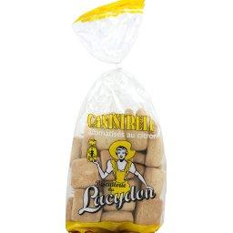 Biscuits secs aromatisé au citron, Canistrelli