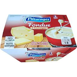 Fondue 3 fromages