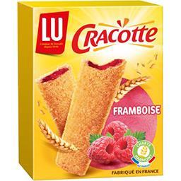Cracotte - Bâtonnets de céréales fourrés à la frambo...