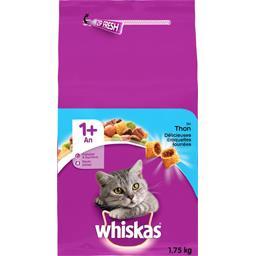 Whiskas Croquettes fourrées au thon pour chat 1+ an